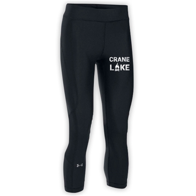 CRANE LAKE LADIES UNDER ARMOUR HEAT GEAR ARMOUR CAPRI