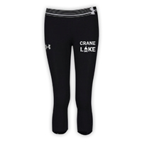 CRANE LAKE GIRLS UNDER ARMOUR HEAT GEAR ALPHA CAPRI