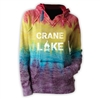 CRANE LAKE COURTNEY BURNOUT V-NOTCH SWEATSHIRT