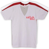 EAGLE HILL AMERICAN APPAREL UNISEX JERSEY V-NECK TEE