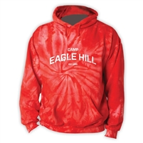 EAGLE HILL RED TIE DYE SWEATSHIRT
