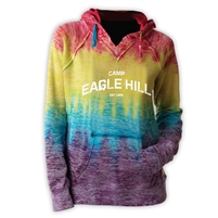 EAGLE HILL COURTNEY BURNOUT V-NOTCH SWEATSHIRT
