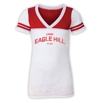 EAGLE HILL SPORTY BURNOUT V-NECK