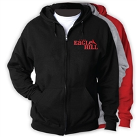 EAGLE HILL FULL ZIP HOODED SWEATSHIRT