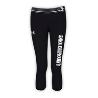 EMMA KAUFMANN GIRLS UNDER ARMOUR HEAT GEAR ALPHA CAPRI