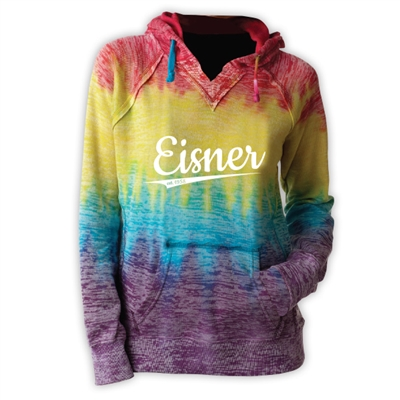 EISNER COURTNEY BURNOUT V-NOTCH SWEATSHIRT