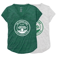 EISNER LADIES V-NECK TEE