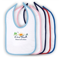 CAMP FARWELL INFANT VELCRO BIB