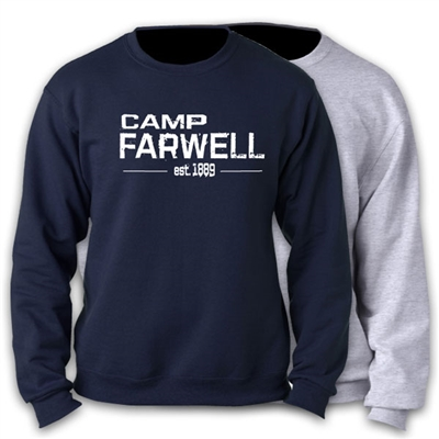 CAMP FARWELL OFFICIAL CREW SWEATSHIRT