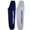 CAMP FARWELL ELASTIC BOTTOM SWEATPANTS