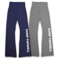CAMP FARWELL AMERICAN APPAREL COTTON SPANDEX JERSEY YOGA PANT