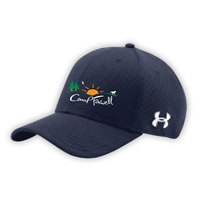 CAMP FARWELL UNDER ARMOUR CURVED BRIM STRETCH FITTED CAP