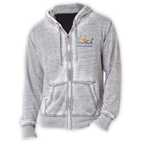 CAMP FARWELL UNISEX BURNOUT HOODY