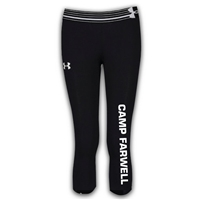 CAMP FARWELL GIRLS UNDER ARMOUR HEAT GEAR ALPHA CAPRI