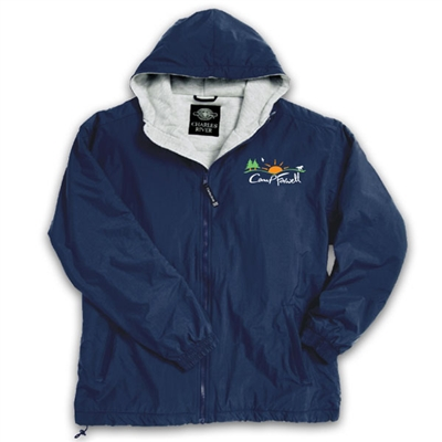 CAMP FARWELL FULL ZIP JACKET WITH HOOD