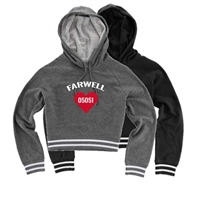 FARWELL CUSTOM LADIES STADIUM CROPPED HOODIE