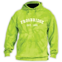 FROGBRIDGE NAVY TIE DYE SWEATSHIRT