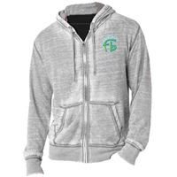 FROGBRIDGE UNISEX BURNOUT HOODY