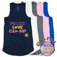 FROGBRIDGE PEACE, LOVE, CAMP AT EASE TANK