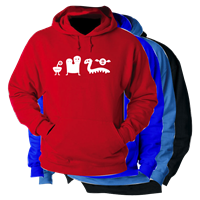 FUN CREATURES HOODED SWEATSHIRT