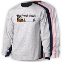 FRENCH WOODS LONGSLEEVE TEE