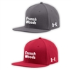 FRENCH WOODS UNDER ARMOUR FLAT BRIM STRETCH FITTED CAP