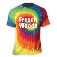 FRENCH WOODS SWIRL TIE DYE TEE
