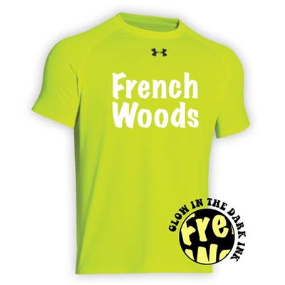 FRENCH WOODS HYPER COLOR UNDER ARMOUR TEE