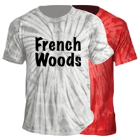 FRENCH WOODS TIE DYE TEE