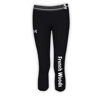 FRENCH WOODS GIRLS UNDER ARMOUR HEAT GEAR ALPHA CAPRI