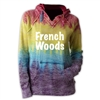 FRENCH WOODS COURTNEY BURNOUT V-NOTCH SWEATSHIRT