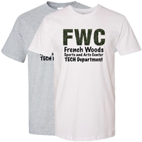 FRENCH WOODS SPORTS & ARTS TECH TEE