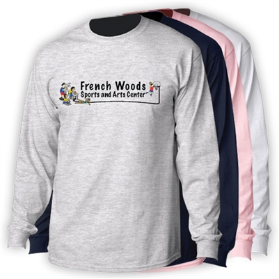 FRENCH WOODS SPORTS & ARTS LONGSLEEVE TEE