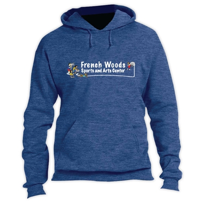 FRENCH WOODS SPORTS & ARTS VINTAGE HOODED SWEATSHIRT