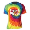 FRENCH WOODS SPORTS & ARTS SWIRL TIE DYE TEE