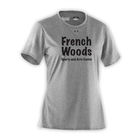FRENCH WOODS SPORTS & ARTS LADIES UNDER ARMOUR TEE