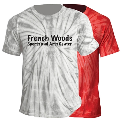 FRENCH WOODS SPORTS & ARTS TIE DYE TEE