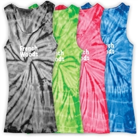 FRENCH WOODS SPORTS & ARTS TIE DYE TANK TOP