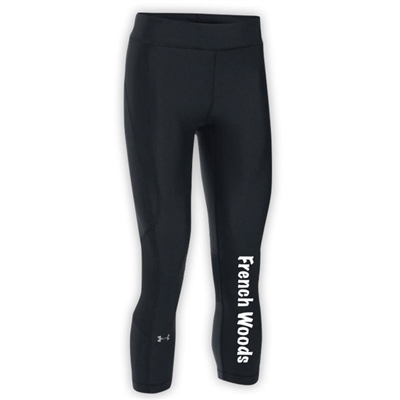 FRENCH WOODS LADIES UNDER ARMOUR HEAT GEAR ARMOUR CAPRI