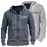 FRENCH WOODS SPORTS & ARTS UNISEX BURNOUT HOODY
