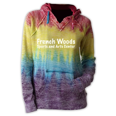 FRENCH WOODS SPORTS & ARTS COURTNEY BURNOUT V-NOTCH SWEATSHIRT