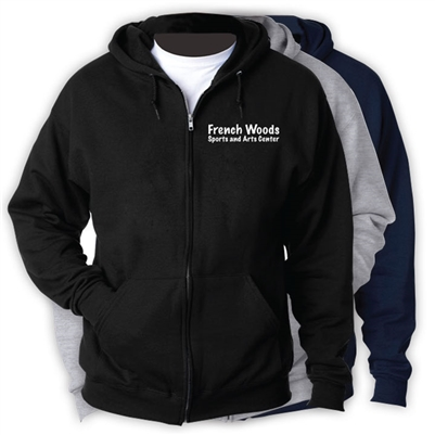 FRENCH WOODS SPORTS CAMP FULL ZIP HOODED SWEATSHIRT