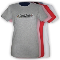 FRENCH WOODS SPORTS & ARTS GIRLS FITTED TEE