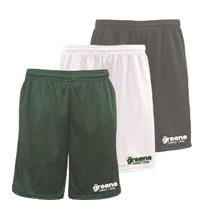 GREENE FAMILY CAMP EXTREME MESH ACTION SHORTS