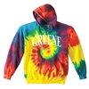 GREENE FAMILY CAMP SWIRL TIE DYE SWEATSHIRT