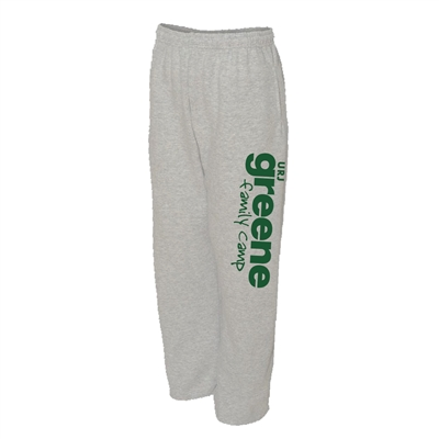 GREENE FAMILY CAMP OPEN BOTTOM SWEATPANTS WITH POCKETS