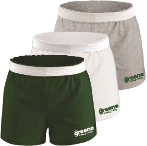 GREENE FAMILY CAMP LADIES COTTON SHORT