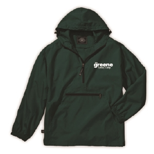 GREENE FAMILY CAMP PACK-N-GO PULLOVER JACKET