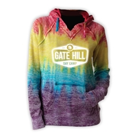 GATE HILL COURTNEY BURNOUT V-NOTCH SWEATSHIRT