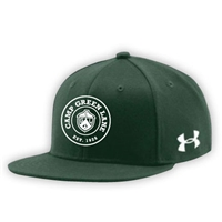 GREEN LANE UNDER ARMOUR FLAT BRIM STRETCH FITTED CAP